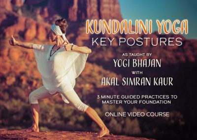 Key Kundalini Yoga Postures Part 2