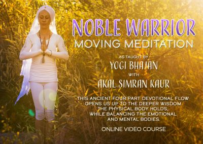 Noble Warrior Moving Meditation