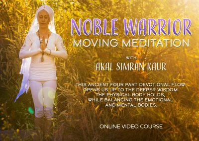 Noble Warrior Moving Meditation