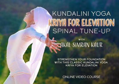 Spinal Tune-up Kundalini Yoga Kriya for Elevation