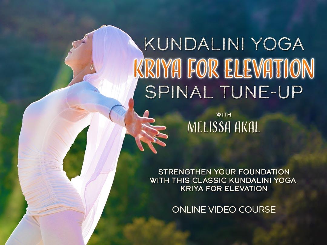 Kundalini Yoga Kriya for Elevation
